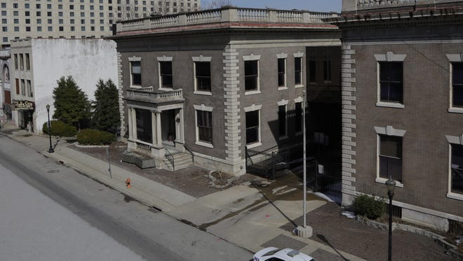 The Water Company building will be dismantled and put in storageto make way for the Omni project.