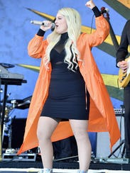 Meghan Trainor sang with little nuance about her love