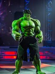The ever-lovin' Hulk will be in Newark this weekend