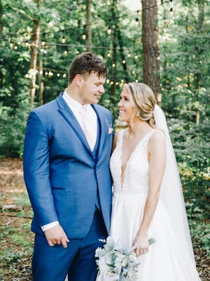 Daniel Smith and Callie Hatley were united in marriage on May 30, 2020.