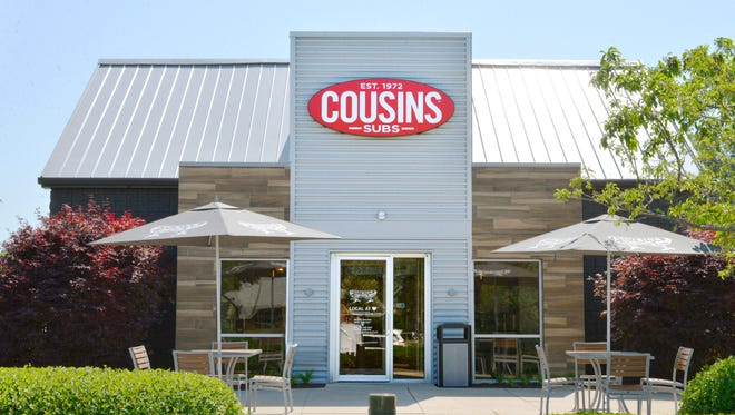 The remodeled Cousins Subs in Menomonee Falls celebrated its reopening July 11. The location features outdoor patio seating in addition to its indoor, drive-thru and takeout options.