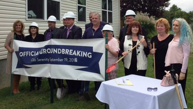 Club Serenity, a safe haven for those in recovery from alcohol and drugs, plans to open on a daily basis in April. On the grounds of St. Ambrose Parish in Old Bridge, the center held a groundbreaking ceremony in the fall and renovations are underway.