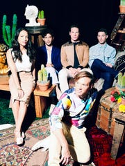 Indie electronic/synth-pop band St. Lucia wraps up