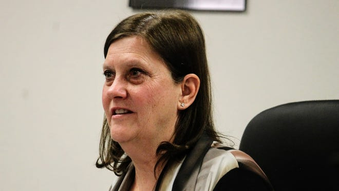 County Commissioner Susan Flores discussed the county's ordinance on public nuisances regarding abandoned and dilapidated mobile homes at their Feb. 9 meeting.