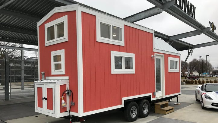 For $3,000, get your own Indy 500 tiny home experience