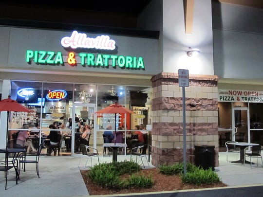 Altavilla Pizza & Trattoria nearly tripled its dining space last month in Mission Hills shopping center, anchored by Winn-Dixie on the northwestern corner of Collier Boulevard and Vanderbilt Beach Road.