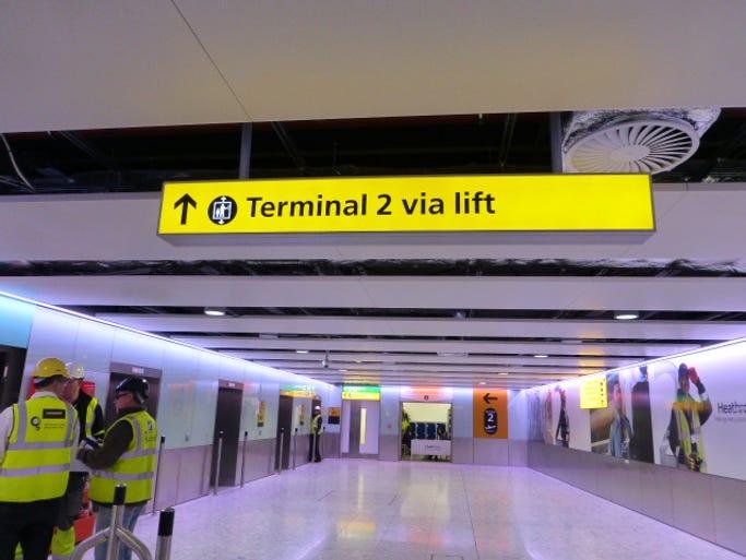 Heathrow's new Terminal 2 will open on June 4, 2014.
