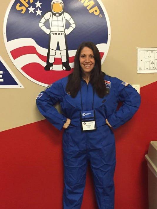 Melody Arabo at Space Camp