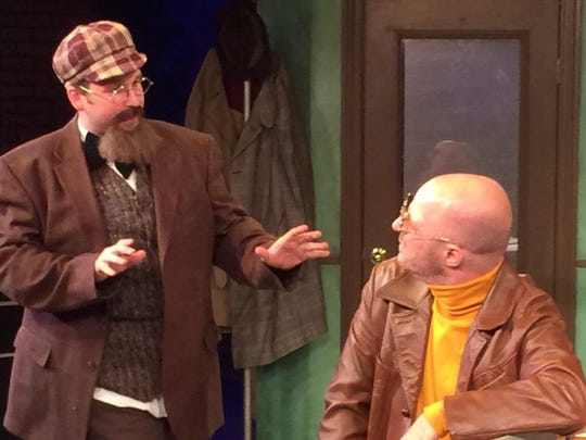 Accidental Death of an Anarchist continues its farcical fun Friday through Sunday at the Springfield Contemporary Theatre.