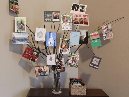 Artfully displaying cards is part of the tradition for many.