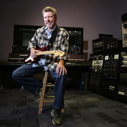 Rob Jessup of Neenah spent time recording this summer