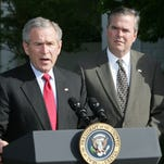 The Bush brothers in April 2006.