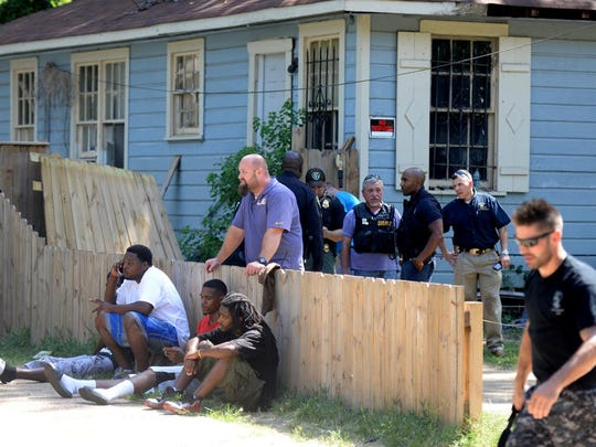 Grover Cannon was located in a garage behind a duplex on the 3800 block of Jackson Street shortly after 3 p.m. Thursday, ending the multi-agency, multi-state manhunt that began the night before.