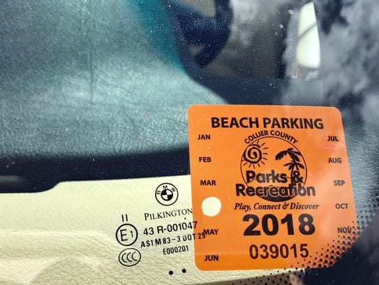 Collier County Beach Permit