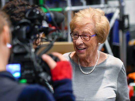 Eva Schloss in 2015.