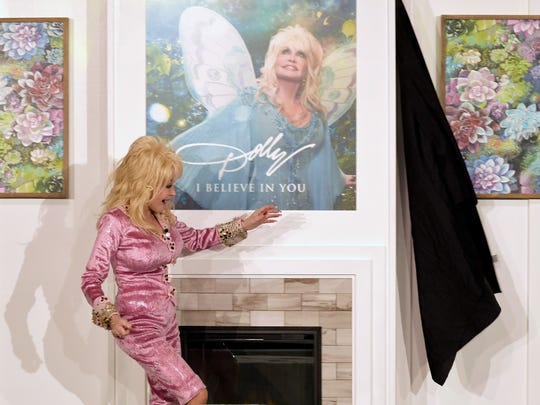"""After 20 years of making sure children have access to free books through her Imagination Library, Dolly Parton revealed plans Tuesday for her first children's album.""""I Believe In You"""" will be available digitally Sept. 29 and in stores worldwide Oct. 13. All 13 songs on the album were written by Parton. Proceeds from """"I Believe in You"""" will benefit Parton's Imagination Library."""