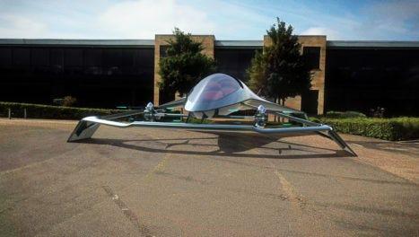 Volante Vision Concept design to explore luxury personal air mobility
