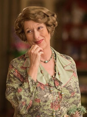 "Meryl Streep in ""Florence Foster Jenkins."" The movie opens Thursday at Frank Theatres Queensgate Stadium 13 and R/C Hanover Movies."