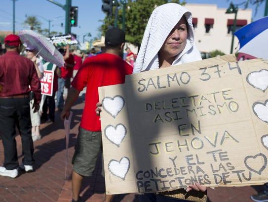 Rosa Isela Ramirez es parte de una coalición de vecinos