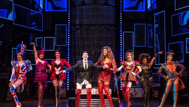 """""""Kinky Boots"""" will debut in Indianapolis on May 16 and run through May 21."""