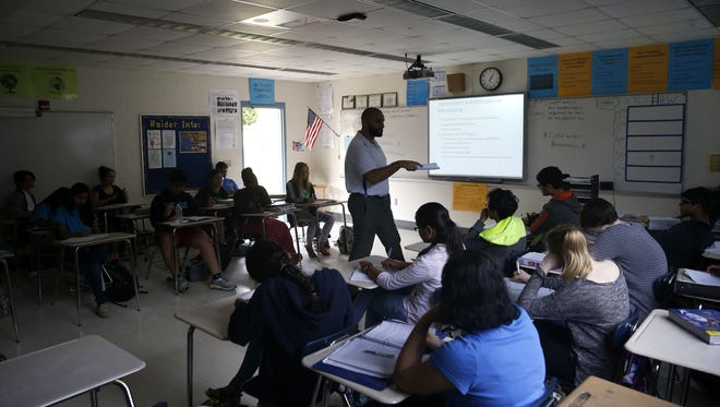The LeRoy Collins Institute pegs Tallahassee as home to one of the five most highly-segregated school districts in the state. At Rickards High School on the city's Southside, white student enrollment is below 20 percent.