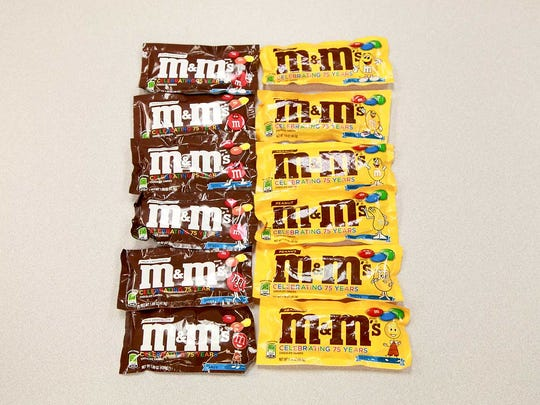 M&M's is rolling out retro packaging from the 1940s