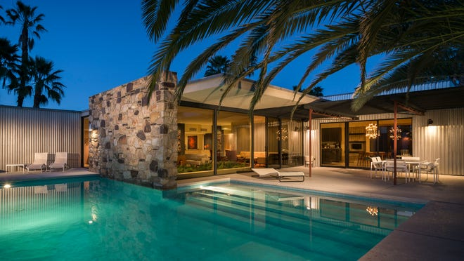 The Rancho Mirage home is on the market for $2.5 million.