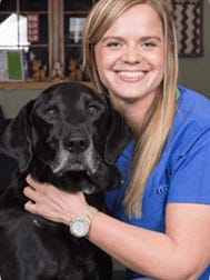Woodhaven Animal Health welcomes Dr. Megan Wehrwein, who joined the staff this past January.