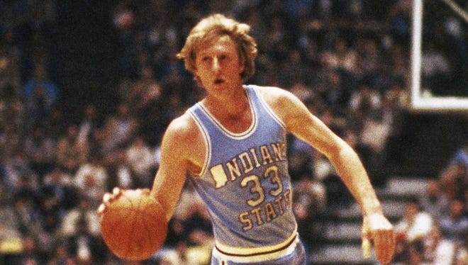 Larry Bird led Indiana State University to the NCAA men's basketball Final Four in 1979.