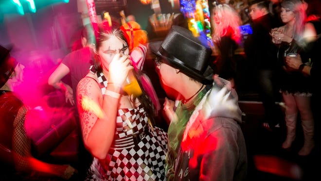 Things got festive for Cupcake!'s Bizarre Bazaar circus-themed dance party at Rogue in Scottsdale on Friday, January 12, 2018.