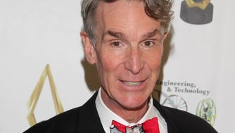BEVERLY HILLS, CA - NOVEMBER 13:  Bill Nye the Science Guy attends the 3rd Annual S.E.T. Awards at the Beverly Hills Hotel on November 13, 2013 in Beverly Hills, California.  (Photo by Mathew Imaging/WireImage) ORG XMIT: 188100605 ORIG FILE ID: 187932766