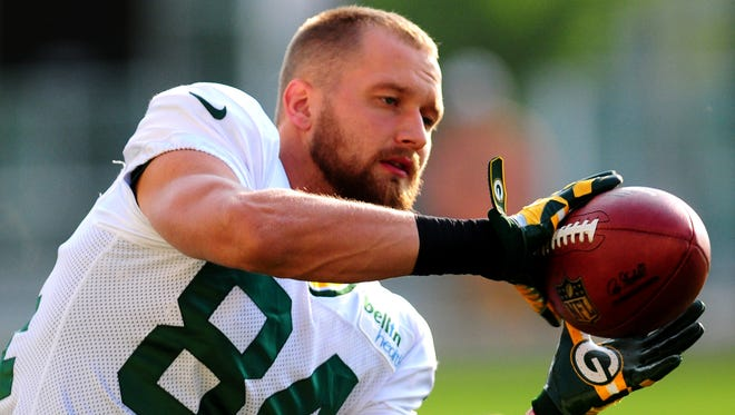 Packers receiver Jared Abbrederis says he is ahead of schedule on his rehab from a torn ACL.