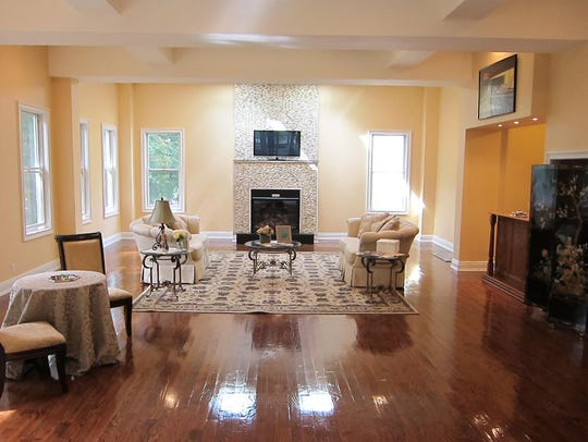 Without furniture, buyers often have no sense of a