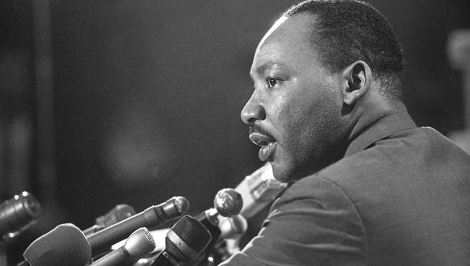 """In his letter from a Birmingham jail Rev. Dr. Martin Luther King Jr., """"We are caught in an inescapable network of mutuality, tied in a single garment of destiny. Whatever affects one directly, affects all indirectly."""""""