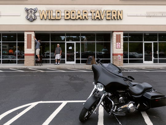 Wild Boar Tavern on Emory Rd. is in the space previously occupied by Spicy's.