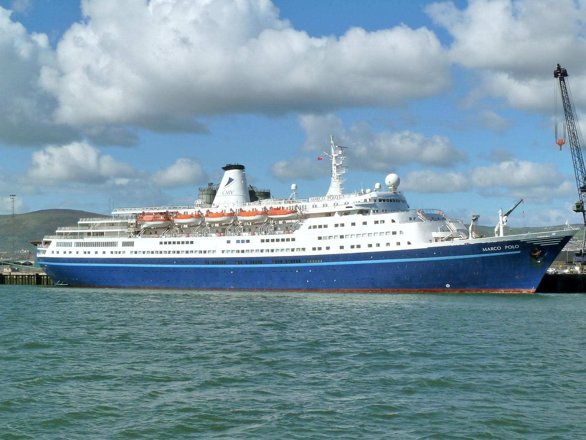 U.K.-based Cruise and Maritime Voyages' 850-passenger, 22,080-ton Marco Polo has a long, rich history as a passenger liner and expedition-style cruise ship. While not for cruisers requiring verandas and all the latest bells and whistles, the Marco Polo is a low-key, elegant ship with a loyal, largely British-based clientele.