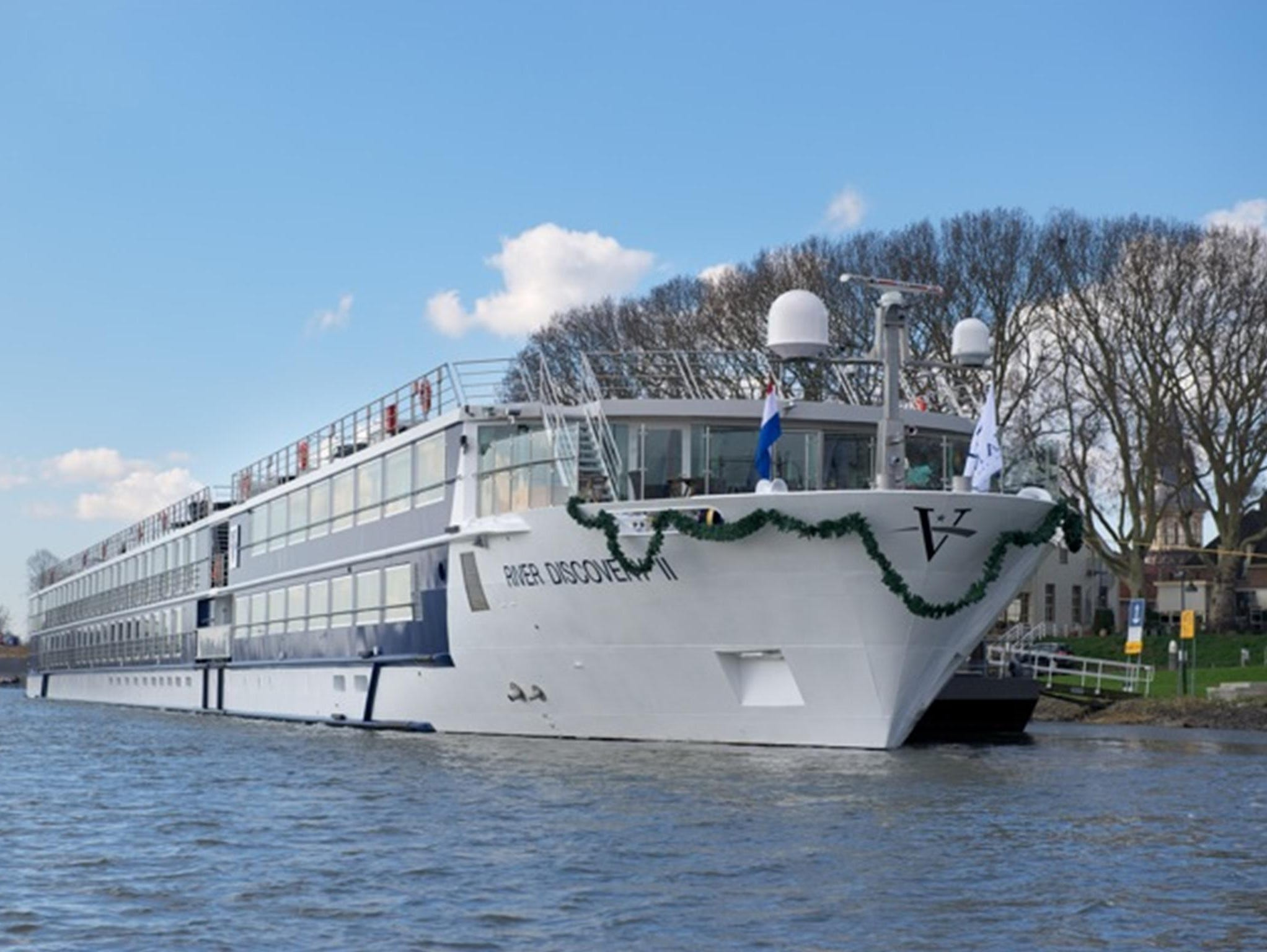 Boston-based Vantage Deluxe World Travel in 2012 christened its first new river cruise ship in five years, the 176-passenger River Discovery II.