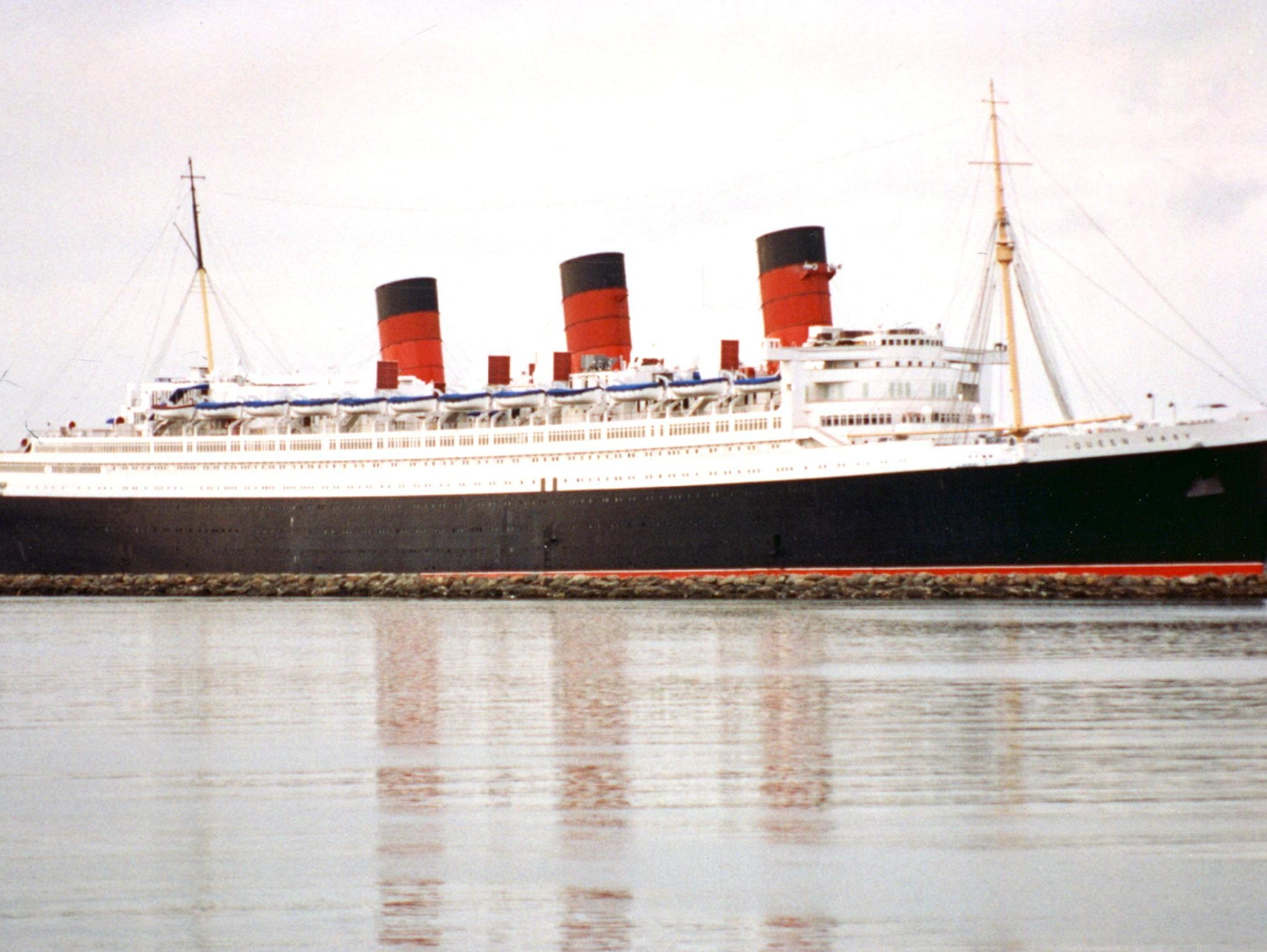 Since becoming a California-based tourist attraction, the Queen Mary has been used as a the occasional Hollywood set. In 1972, the Irwin Allen disaster movie,The Poseidon Adventure,was filmed on board and the ship has made many appearances in other movies and television shows.