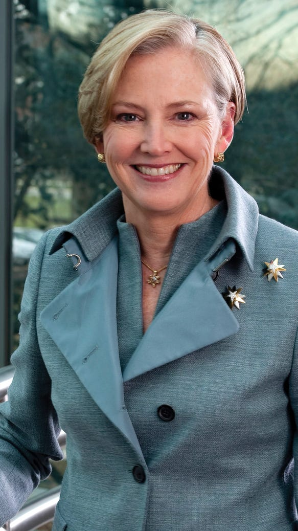Ellen Kullman, DuPont chair and chief executive officer