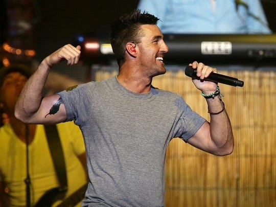 Jake Owen performed at Indiana Farmers Coliseum on Aug. 14.