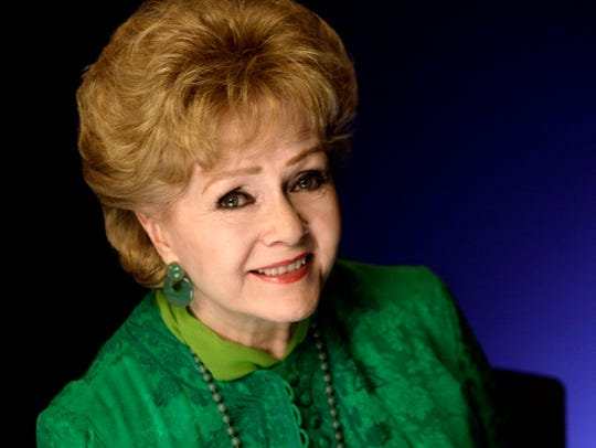 Actress Debbie Reynolds poses for a portrait in this