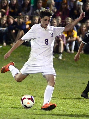Station Camp High freshman Riley Indermuehle steps into a shot during second-half action.
