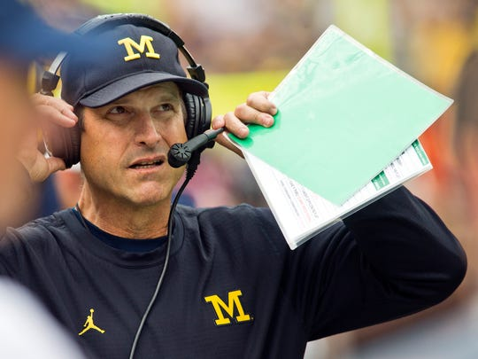 Jim Harbaugh has elevated the Wolverines into the Top 10 faster than many expected. This, without even a full allotment of his own talent yet.