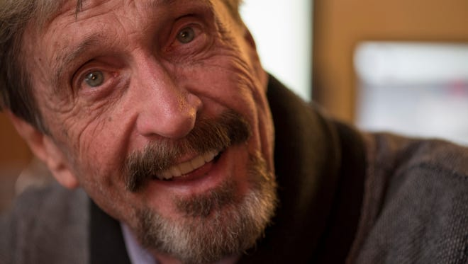 John McAfee, founder of McAfee Anti-Virus, is expected to announce his candidacy for president in the coming days.