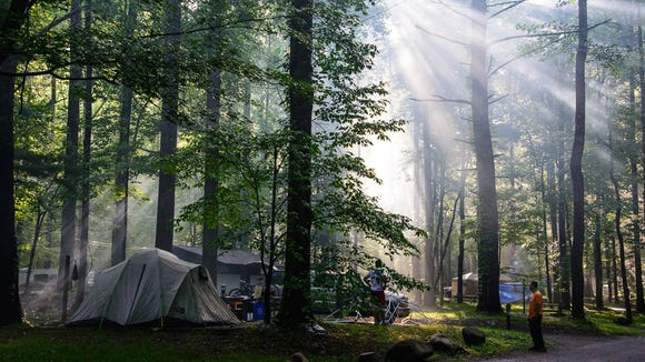 Elkmont Campground in Great Smoky Mountains National Park would cost up to 25 percent more per night under a new park proposal.