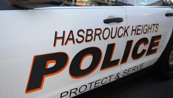 Hasbrouck Heights Police Department vehicle.