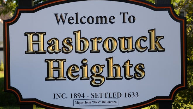 Hasbrouck Heights Welcome sign