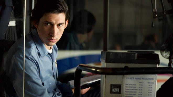 "Adam Driver is a bus driver named Paterson in Paterson,  New Jersey, in ""Paterson."""