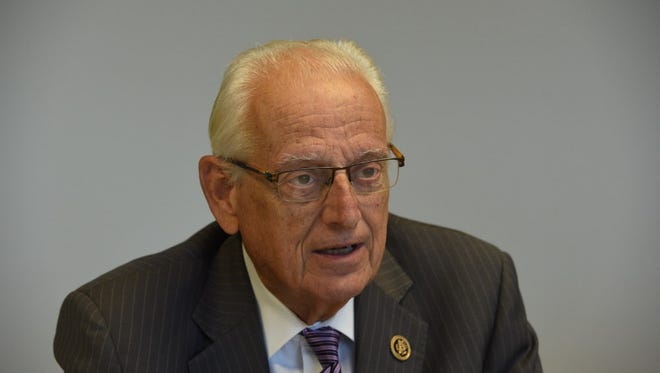 Rep. Bill Pascrell is asking the FBI for information on calls to Syrian refugees.