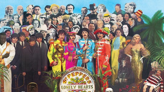"""""""Sgt. Pepper's Lonely Hearts Club Band"""" by The Beatles."""